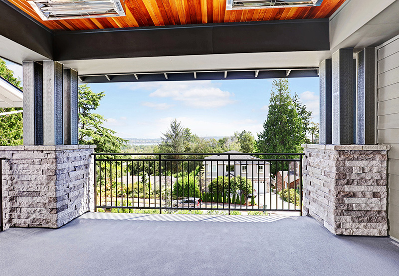 Covered Outdoor Living View
