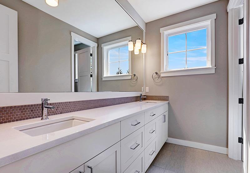 Hall Bathroom Vanity