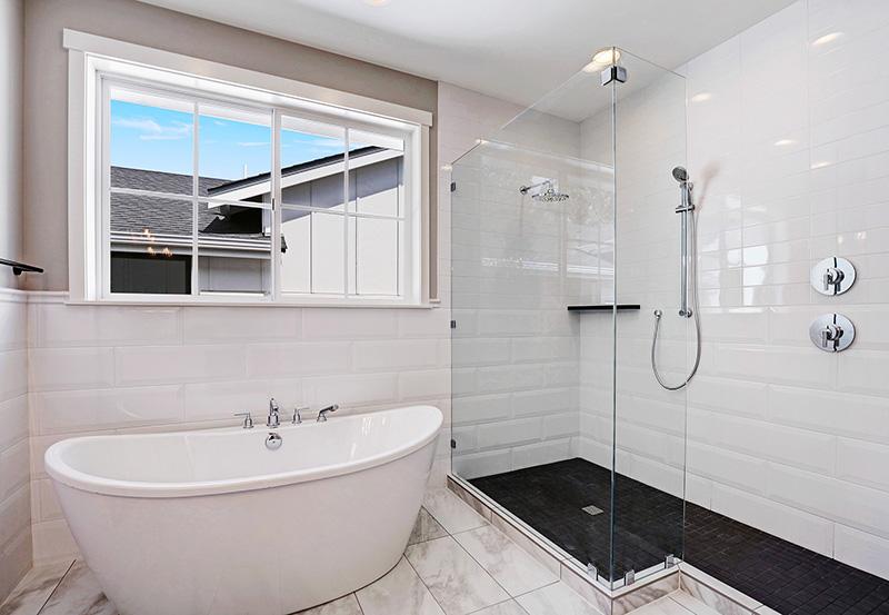 Master Bathroom Bath & Shower