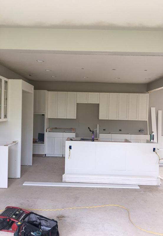 Kitchen Cabinets Installed
