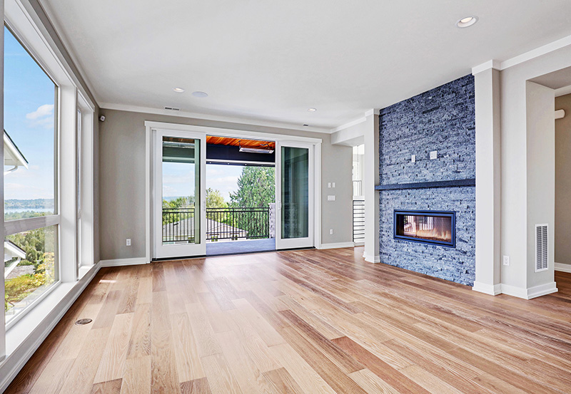 Great Room View and Fireplace