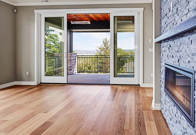 Sliding Door with View