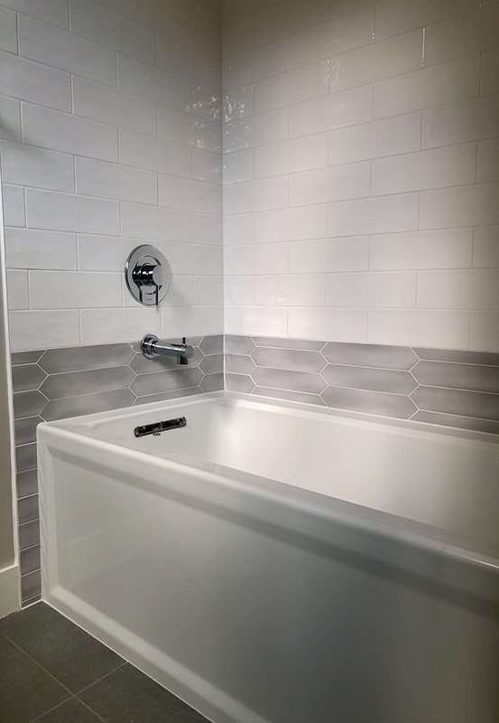 view ridge homes in construction hall bathtub