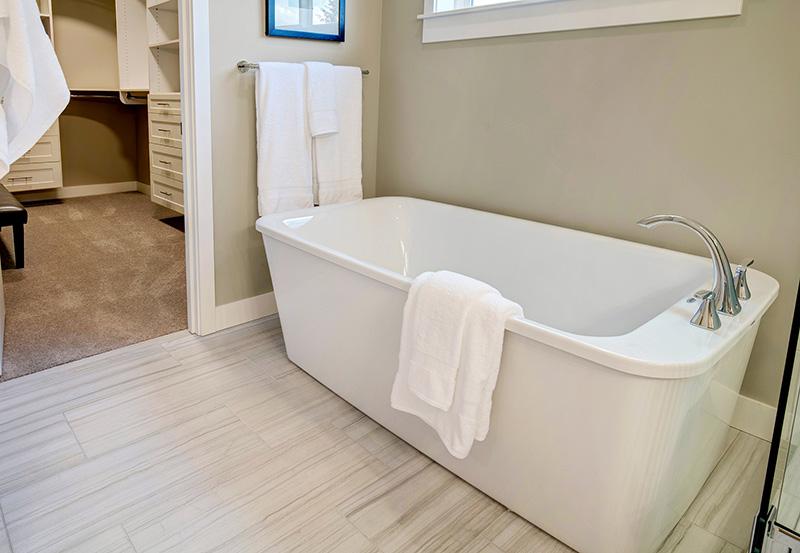 The Burke master-bath