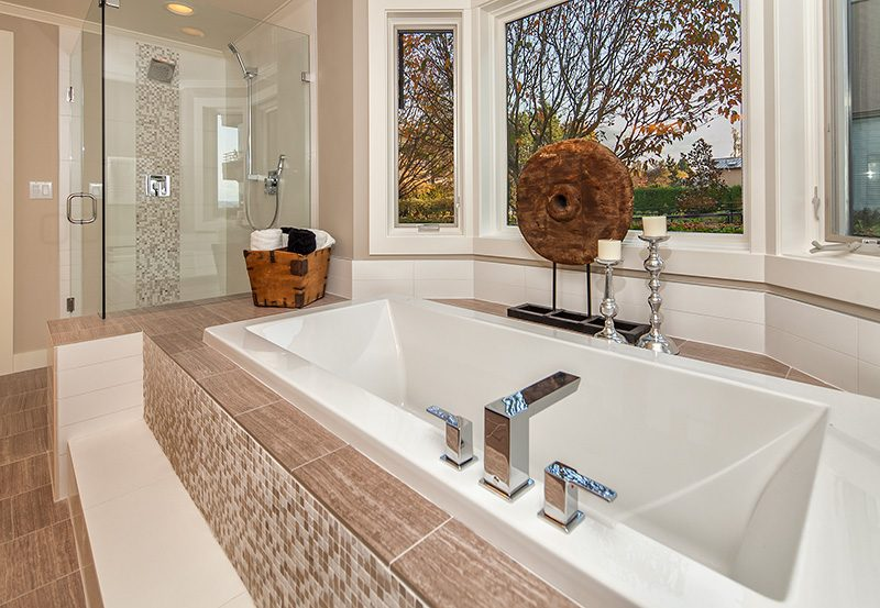 Lake View Manor Master Bath