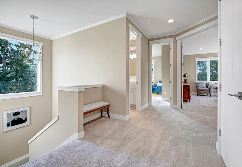 The Burke upper-hallway