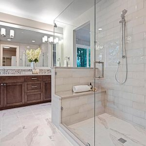 time to relax & unwind in master shower