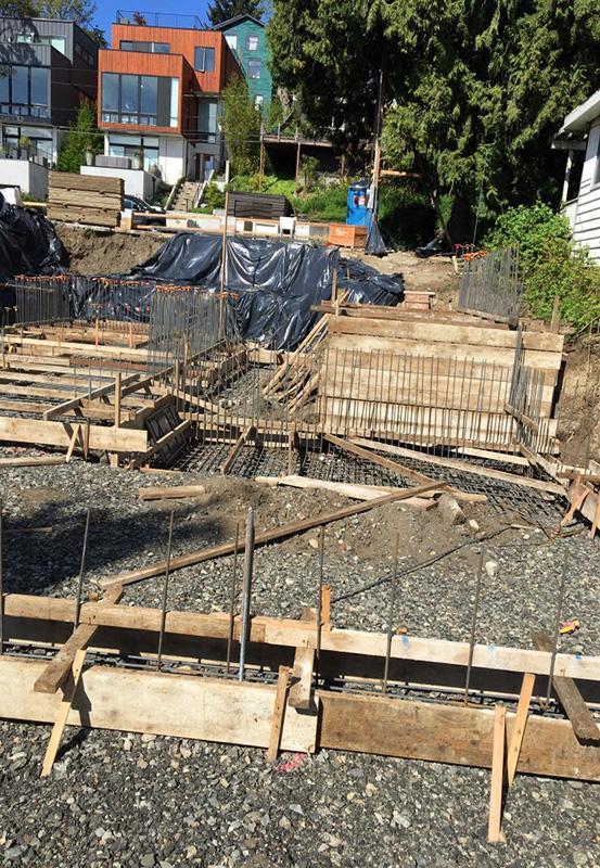 Arboretum Home Construction Prep